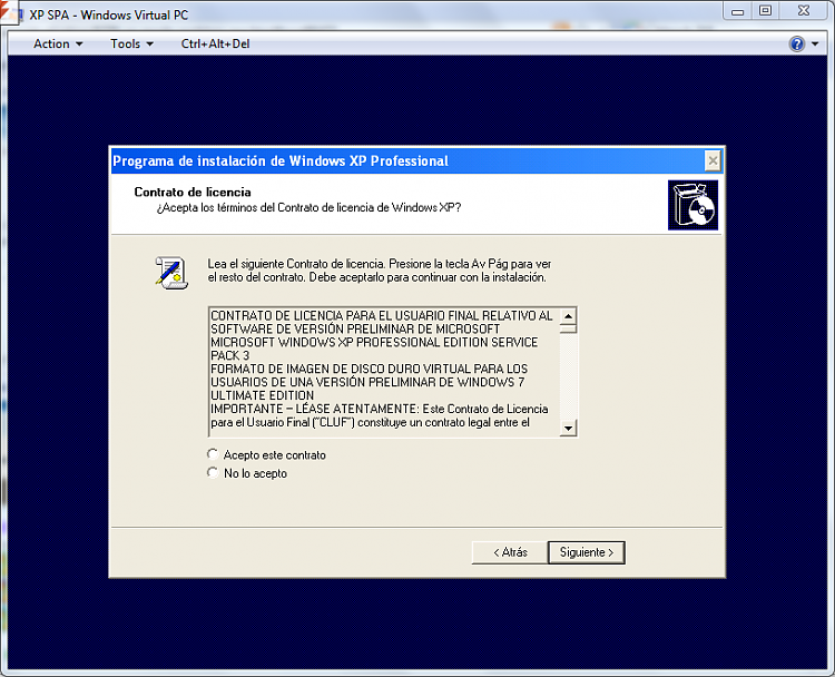 xp virtual machine (x86 Spanish) error-spa1.png