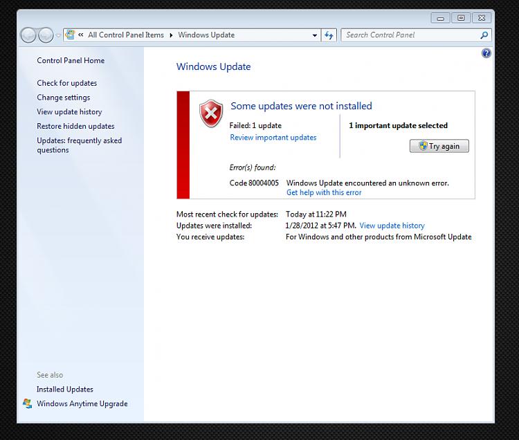 Error with SP1 windows update-same-error.png