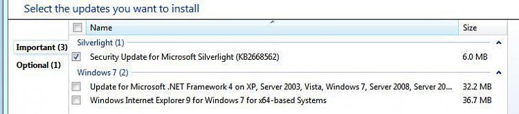 Recent updates are unchecked in Windows Update.  Why?-updates.jpg