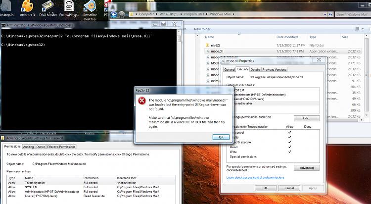 Win7 SP1 Update not installing - mismatched Mail file. 0x80004005-regsvrerrorcap2.png