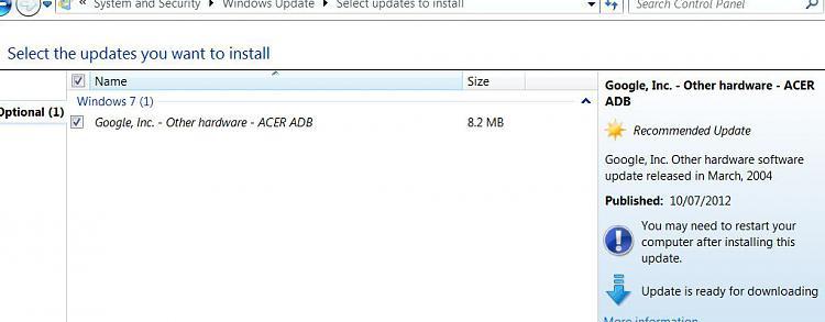 Google update via Windows Update-acer.jpg