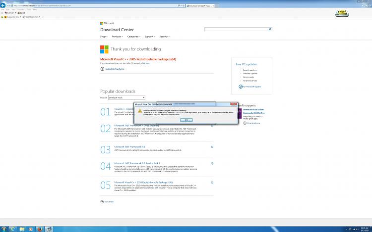 Windows Error Code 80070422 - Windows Updates-visual-c-2005-install-error.png