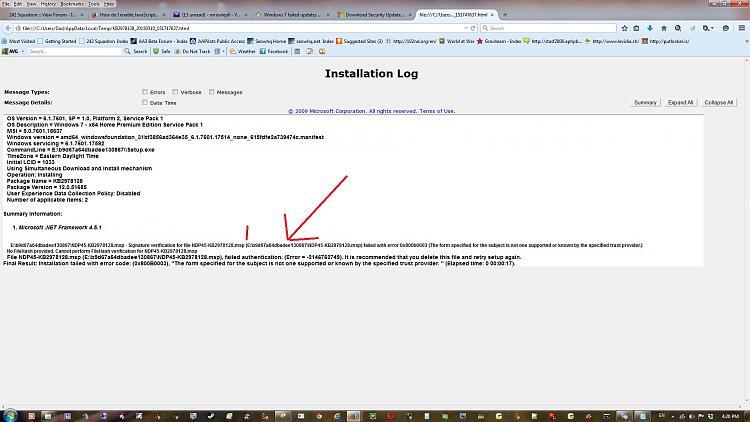 Windows 7 failed updates error code 800B0003-netframeword-install-error-location-picture.jpg