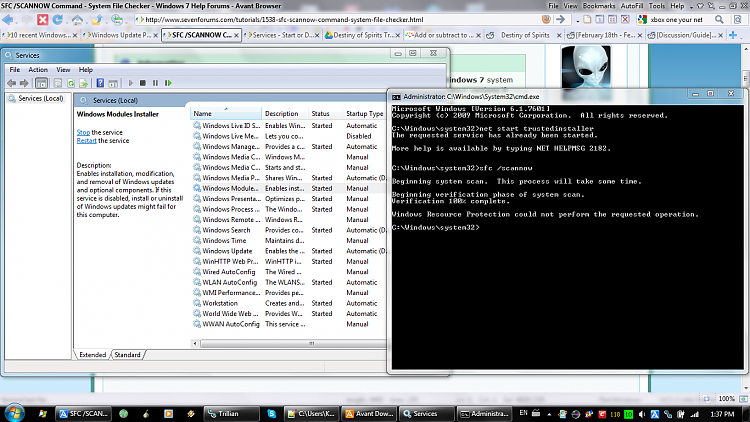 "10 recent Windows Updates giving ""unknown error"" 80070005-80070005-sfc.png"