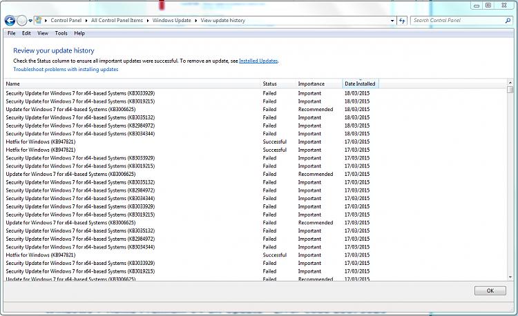 Windows 7 Home Premium 64-bit Update - Error Code 800736B3-windowsupdatehistory-failed-updates.png