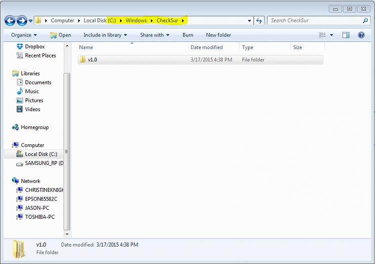 How do I correct the Windows update error 800B0100 & 80073712?-windows-checksur-folder.png
