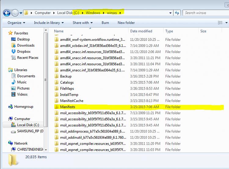 How do I correct the Windows update error 800B0100 & 80073712?-windows-winsxs-folder.png