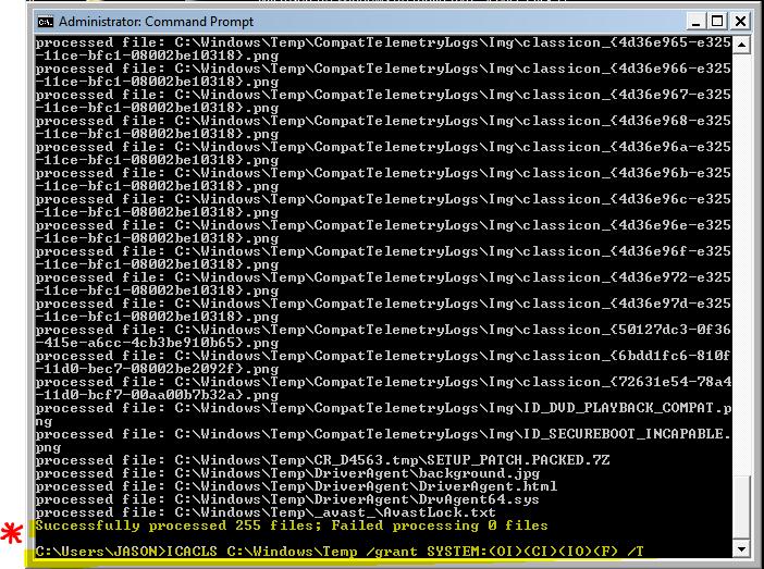 How do I correct the Windows update error 800B0100 & 80073712?-icacls-run-ecp-safe-mode-noeldp.png