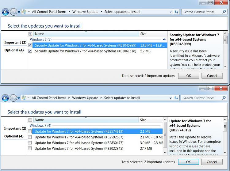 Code error 800f0900 appears when installing windows update-updates.jpg