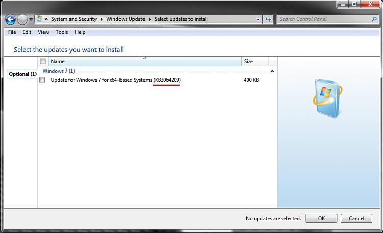 Recent Windows Update KB3064209 causes Windows 7 to not boot-kb3064209.jpg