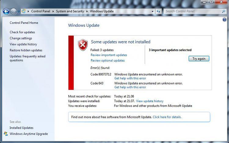 Windows updates not working error codes 80073712 and 643-update-errors-4-aug.jpg