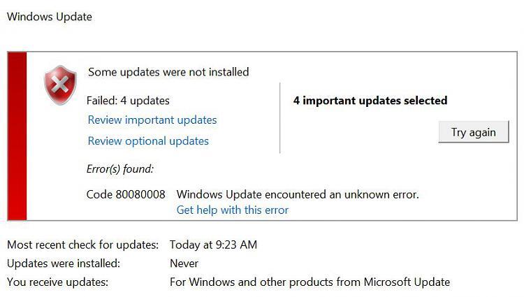 Windows Activation and Update errors - Windows 7 Help Forums