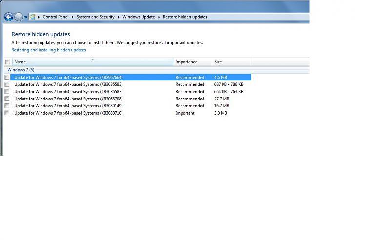 Windows Update Failing, error code 80073712-hiddenupdates.jpg