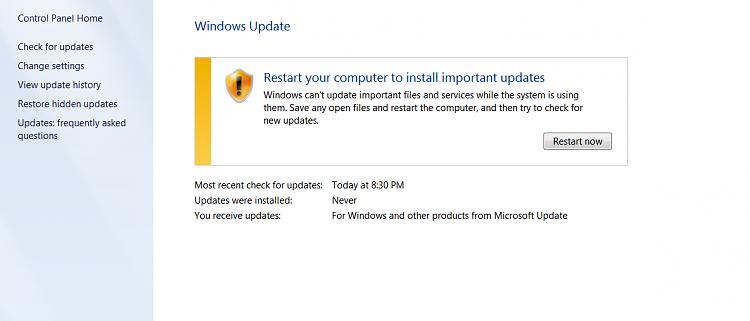 Windows 7 Ultimate stuck in update loop after trying Windows 10-screen-capture-windows-update.png
