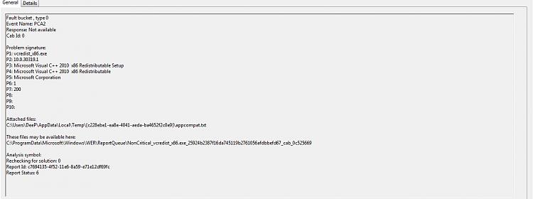 0xc000007b error Solved - Windows 7 Help Forums