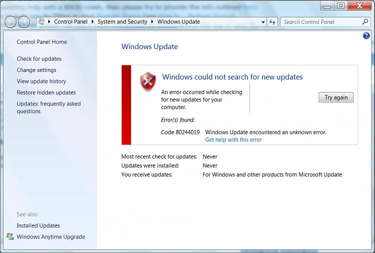 Windows 7 Update Hanging on Checking for Updates-windows-update-error-80244019.png