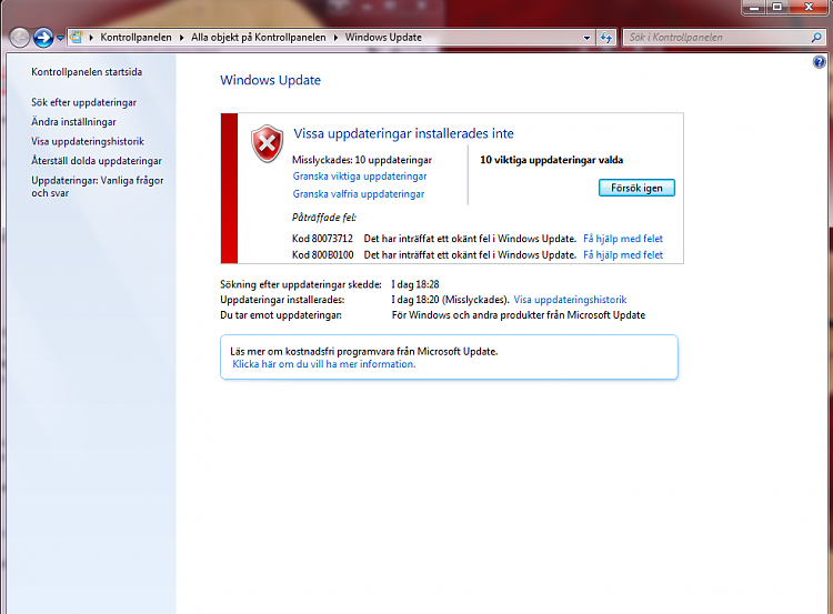 Windows update fails on last 10 issues, codes 80073712 800B0100-windows_update_errors.png