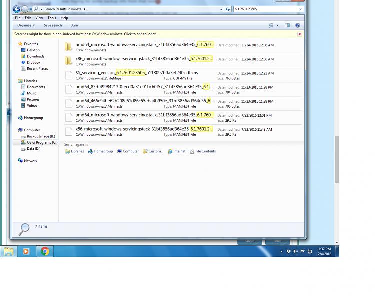 Windows 7 Professional x64 can't get updates-winsxs.png