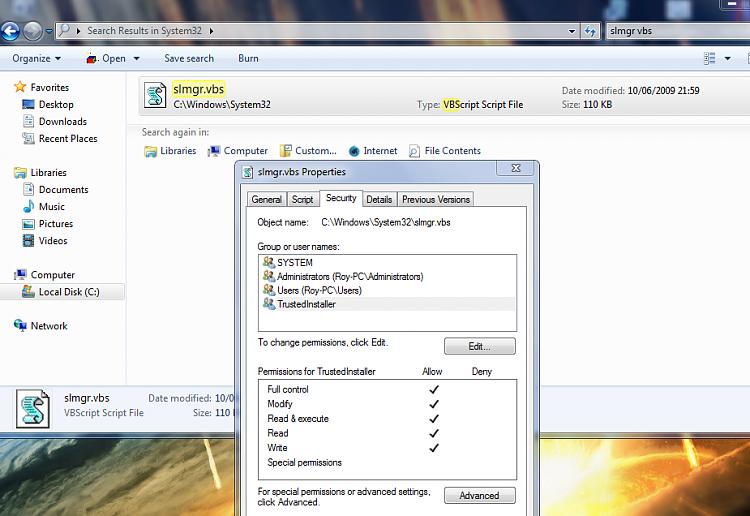 Another W7 Update Problem Child, Won't Run Update, Won't Run Installer-vbs22-1.png
