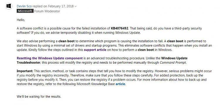 KB 4076492 Fail - Unknown Error-microsoft-reply.jpg